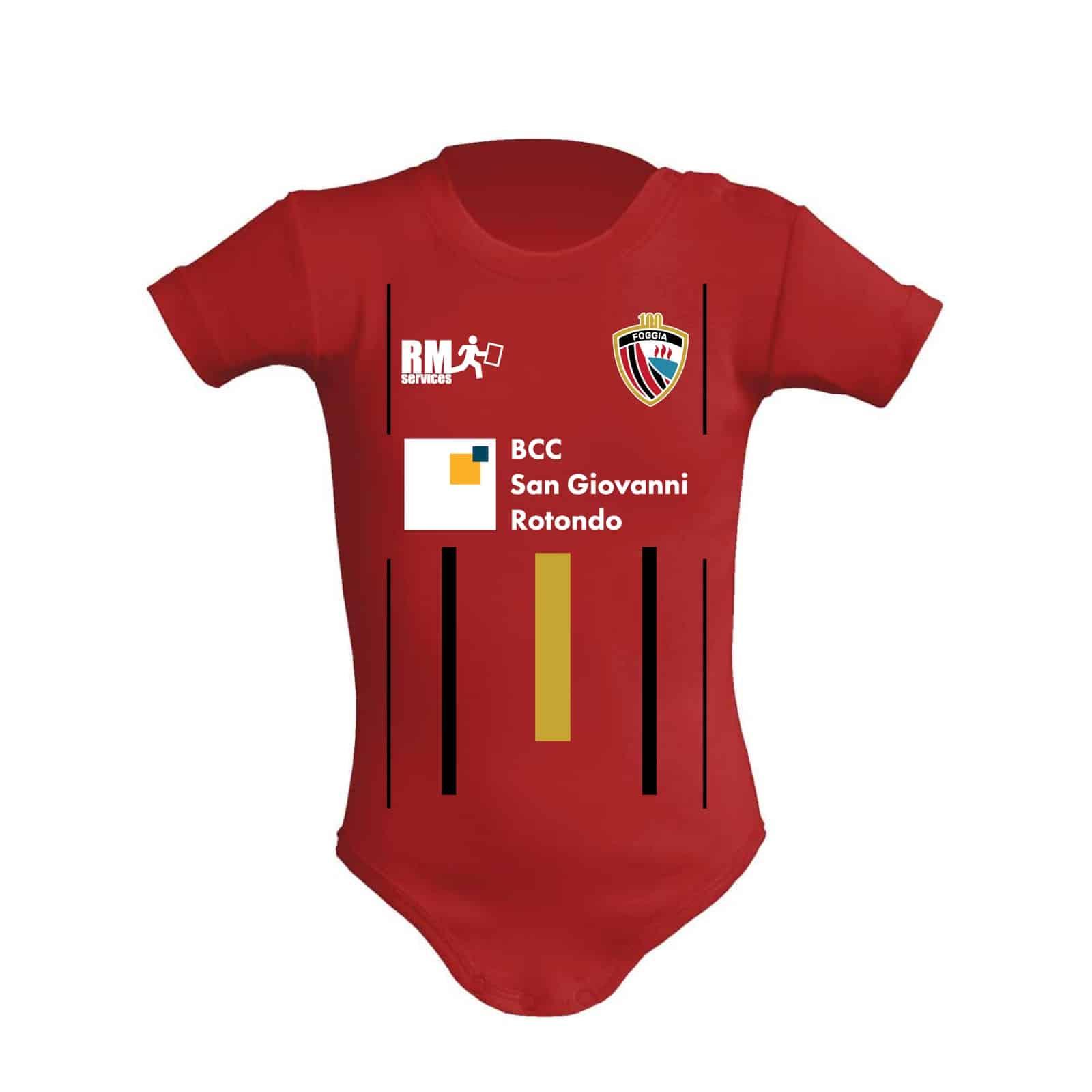 Baby body Calcio Foggia 1920