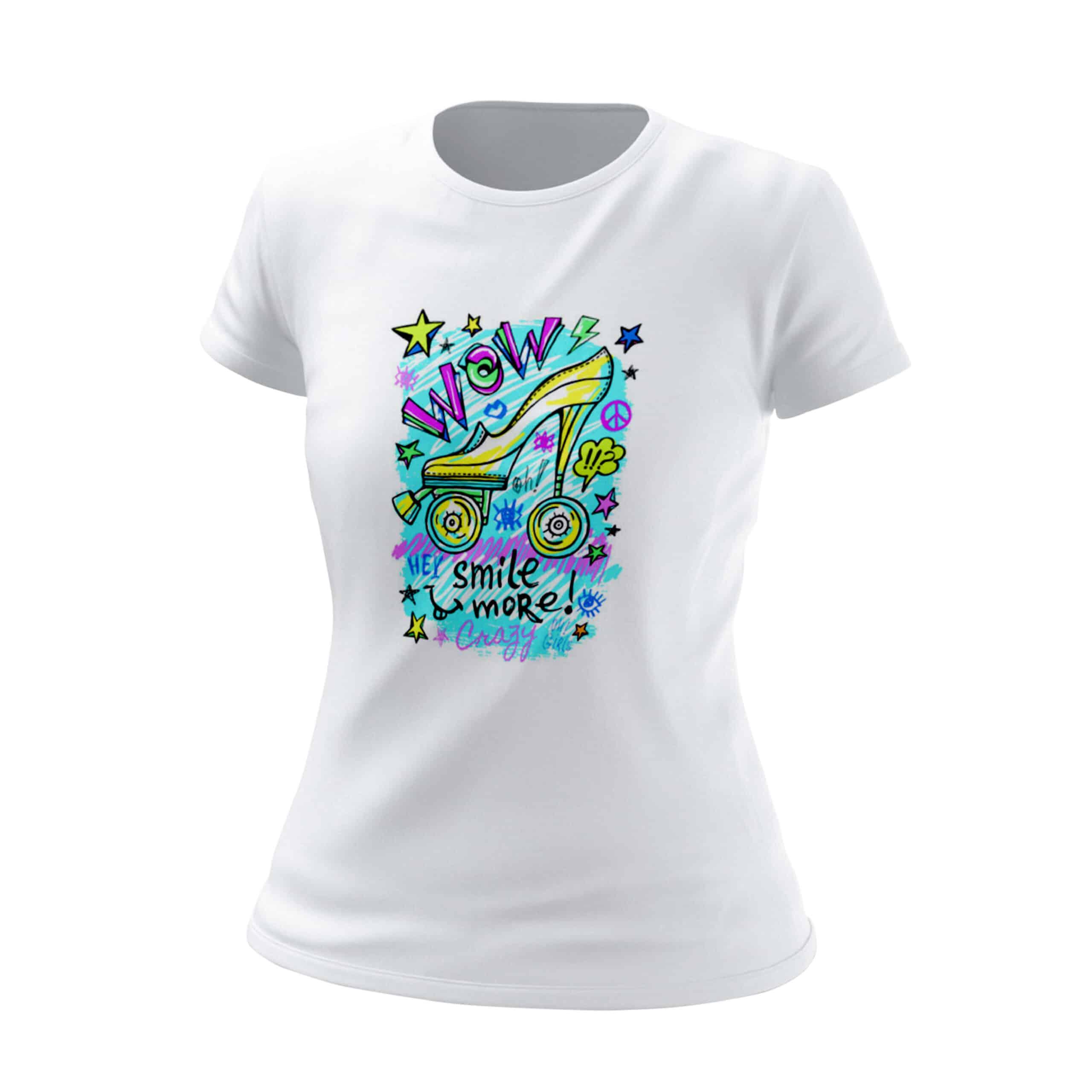 t-shirt-donna-wow